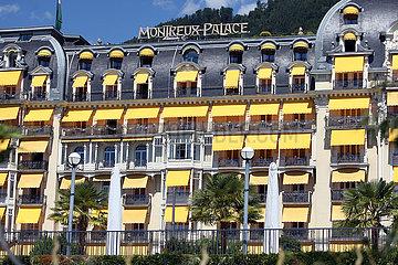Montreux  Schweiz  Hotel Montreux Palace