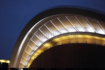 Berlin  Deutschland  Dach des Haus der Kulturen der Welt