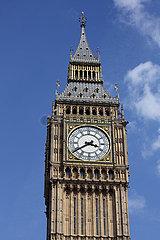 London  Grossbritannien  Elizabeth Tower  ehemals auch Big Ben