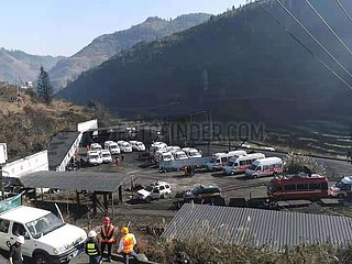 CHINA-GUIZHOU-COAL MINE-Unfall (CN)