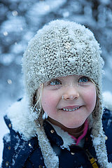 Magischer  zauberhafter Schnee