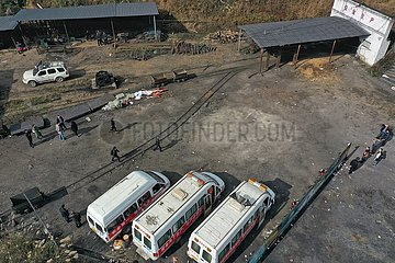 CHINA-GUIZHOU-COAL MINE-UNFALLS-Todesrate (CN)