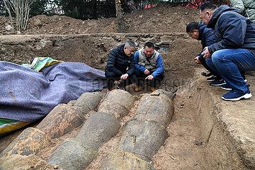 CHINA-SHANDONG-QINGDAO-Langyatai-ARCHAEOLOGICAL DISCOVERY (CN)