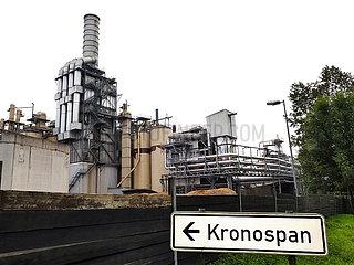 Kronospan GmbH Produktionsanlagen | Kronospan GmbH production facilities