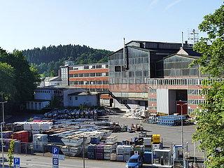 Werksgelände der Otto Fuchs KG | factory site of Otto Fuchs KG