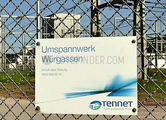 Tennet-Umspannwerk | Tennet substation
