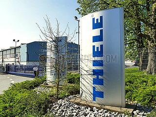 Werksgelände der THIELE GmbH | factory premises of THIELE GmbH