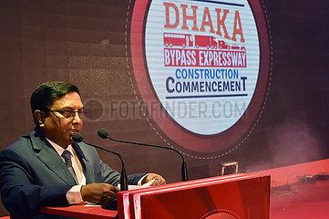 BANGLADESH-DHAKA-CHINA-EXPRESSWAY-BEGINN BANGLADESH-DHAKA-CHINA-EXPRESSWAY-BEGINN