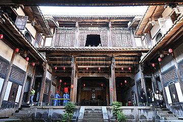 CHINA-FUJIAN GESCHICHTLICHE Residenz (CN)
