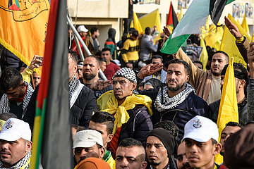 MIDEAST-GAZA-FATAH JUBILÄUM