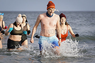 POLEN-DANZIG-NEW YEAR BADEN POLEN-DANZIG-NEW YEAR BATHING