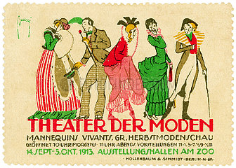Theater der Moden  Herbstmodenschau  Berlin  1913