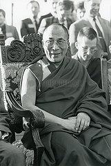 Dalai Lama  Portrait  1986