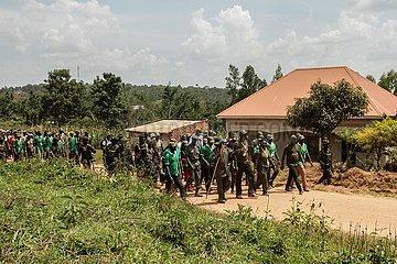UGANDA-Wakiso-BEFREIUNG FIGHTERS-GEDENKEN