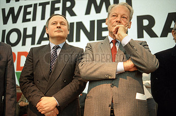 Willy Brandt  Oskar Lafontaine  Dortmund 1985
