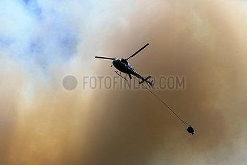 NEUSEELAND-NAPIER-FIRE