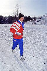 Franz Beckenbauer  neuer Trainer beim FC Bayern Muenchen  Februar 1994