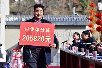 CHINA-GANSU-Huixian-DIVIDENDS (CN)