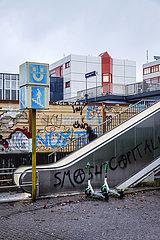 Stadtansicht Essen  Ruhrgebiet  Nordrhein-Westfalen  Deutschland