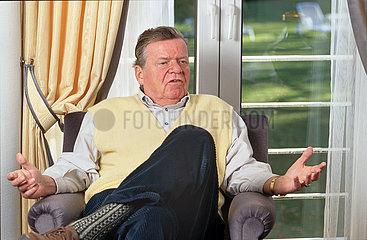 Eberhard von Brauchitsch  ehemaliger Flick-Manager  1996