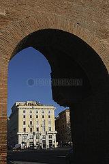 Stadtmauer in Rom