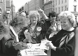 Trude Unruh  Graue Panther  Die Grauen  Berlin  1992