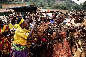 UGANDA-KAKUMIRO-BEFREIUNG FIGHTERS-GEDENKEN