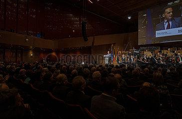 BM Maas bei 100 Jahre Saarland