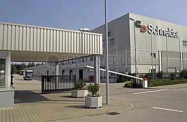 Firma Schneider Electronics  Werksgelaende  Tuerkheim  2003