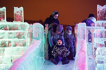 RUSSLAND-Moskau-ICE MOSKAU FESTIVAL