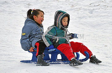 # CHINA-WINTER-OUTDOORS-FUN (CN)
