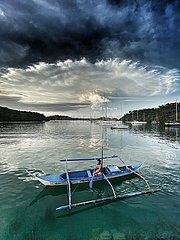 Naturspektakel auf den Philippinen - Ausbruch des Taal Vulkans