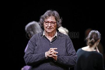 Berliner Ensemble DREI MAL LEBEN   Proben-Foto