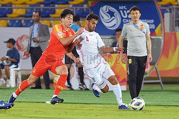 (SP) THAILAND-SONGKHLA-FOOTBALL-AFC U23 CHAMPIONAT-CHN VS IRA
