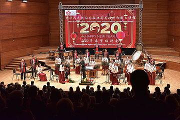 NORTH MAZEDONIEN-SKOPJE-CHINESE LUNAR NEW YEAR-EMPFANG