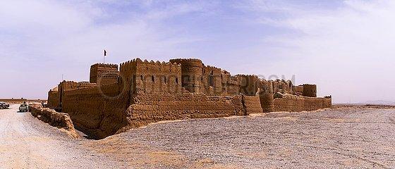 Iran  die historische Sar Yazd Festung | Iran  the historic Sar Yazd Fortress
