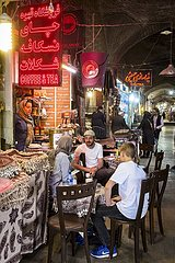 Iran  Kaffeehaus im Basar | Iran  coffee shop in the bazaar Feedback geben Verlauf Gespeichert Community