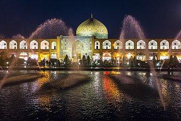 Abenddämmerung an der Scheich-Lotfollah-Moschee | dusk at the Sheikh Lotfollah Mosque
