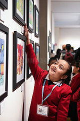 MEXIKO-MEXICO CITY-CHINA-CHILDREN ART EXPO