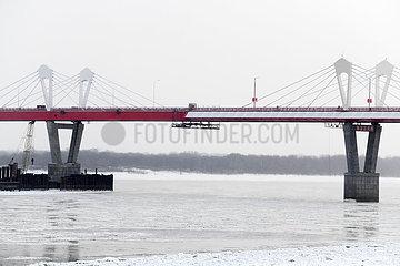 CHINA-HEILONGJIANG-RUSSIA-BRIDGE-HIGHWAY READY FOR OPENING (CN)