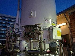 Wasserstoff-Behaelter