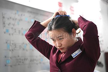 (FOCUS) CHINA-GUANGXI-NANNING-FEMALE METRO DRIVER (CN)