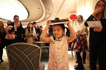 TÜRKEI-ISTANBUL-CHINESE LUNAR NEW YEAR-EMPFANG