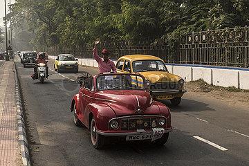 INDIEN-KOLKATA-Oldtimer-Rallye INDIA-KOLKATA-Oldtimer-Rallye INDIA-KOLKATA-Oldtimer-Rallye