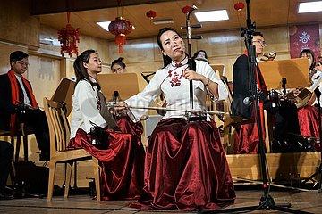 POLEN-OPOLE-chinesische Neujahr-KONZERT POLEN-OPOLE-chinesische Neujahr-KONZERT