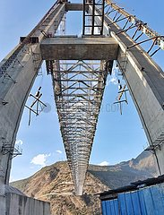 CHINA-YUNNAN-Jinsha BRIDGE-CONSTRUCTION (CN) CHINA-YUNNAN-Jinsha BRIDGE-CONSTRUCTION (CN)