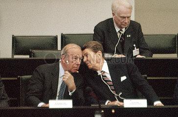 Ronald Reagan  George Shultz  Deutscher Bundestag  1985