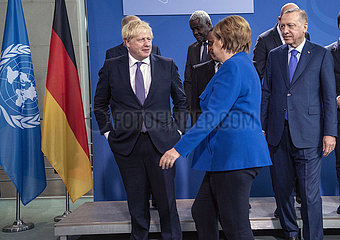Johnson + Merkel + Faki + Erdogan