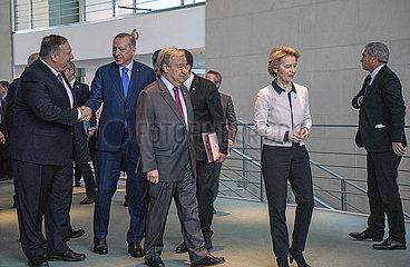 Pompeo + Erdogan + Guterrez + Von der Leyen