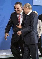 Pompeo + Putin